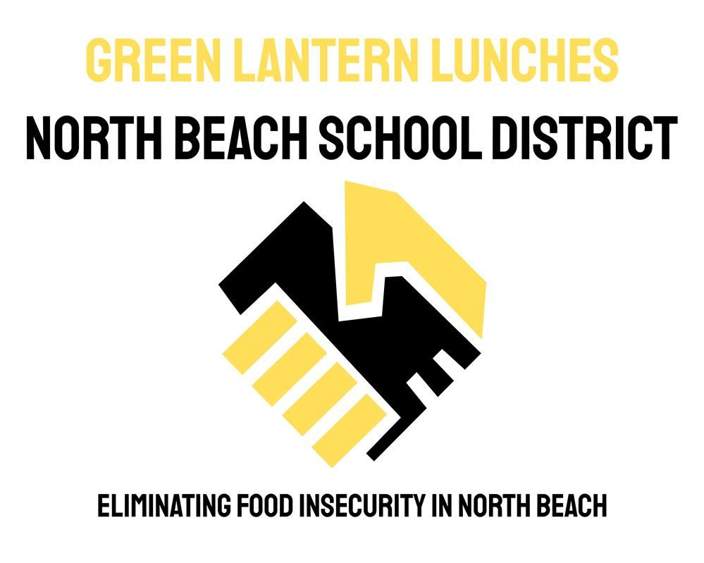 Logo North Beach School District and Green Lantern Partnership
