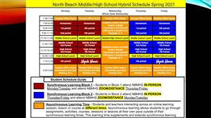 NB MS/HS Hybrid Schedule
