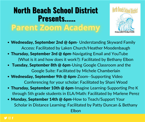 NBSD Parent Academy Training List